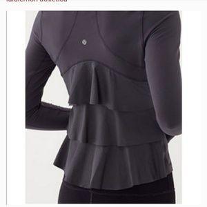 Lululemon Yogi Dance Ruffle Jacket